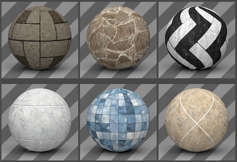Cinema 4D Floor Textures 01 - Free Cinema 4D Textures
