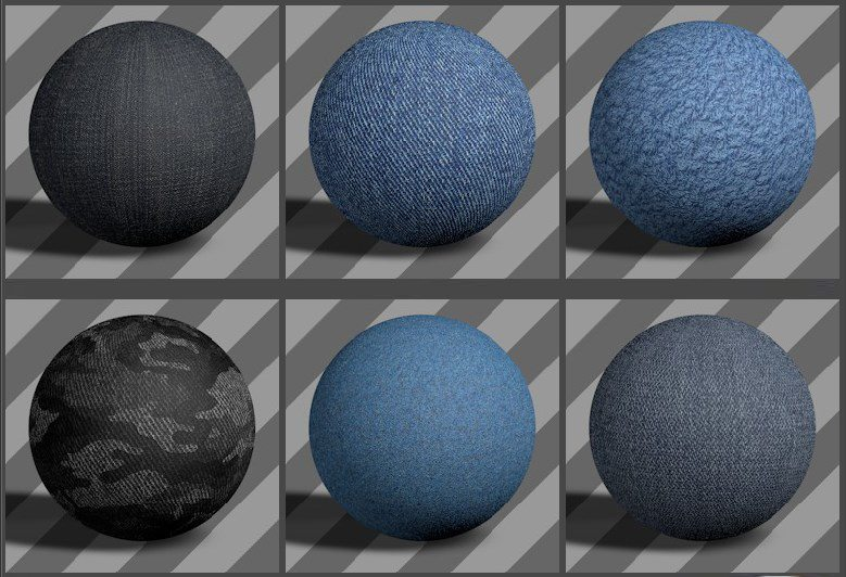 fabric textures 01 - free cinema 4d textures