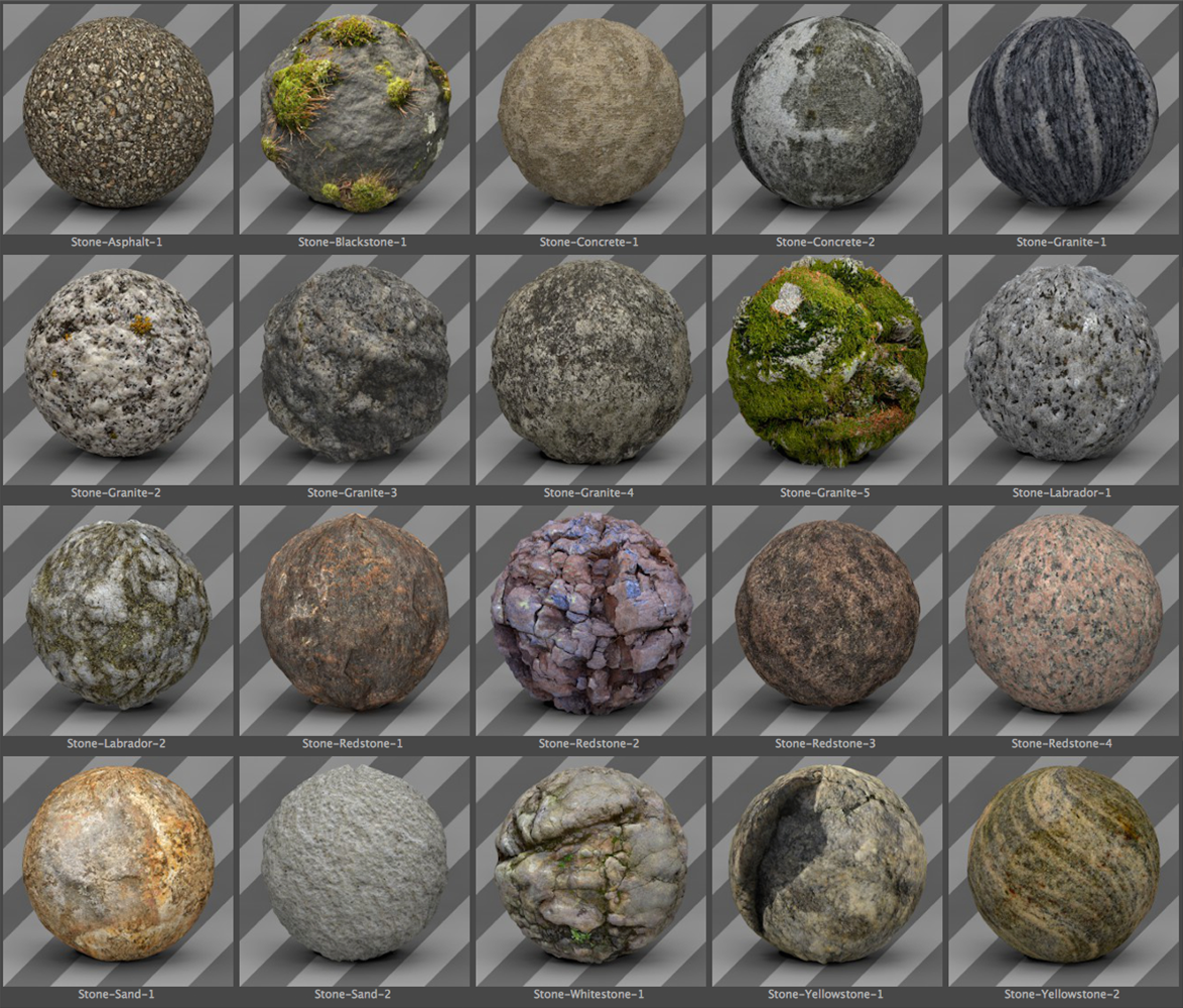 free cinema 4d stone texture pack