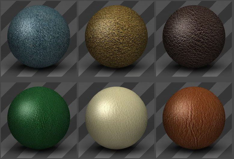Leather Textures 01 - Free Cinema 4D Textures