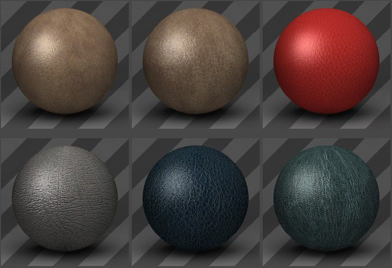 Leather Textures 04 - Free Cinema 4D Textures