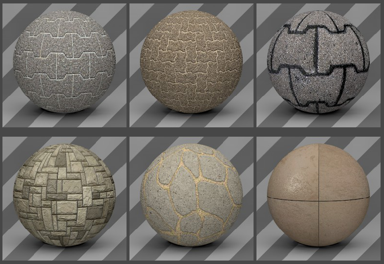 Cinema 4D Floor Textures 04 - Free Cinema 4D Textures