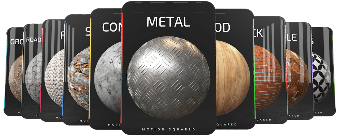 free motion squared materials for cinema 4d